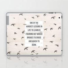 life lessons Laptop & iPad Skin