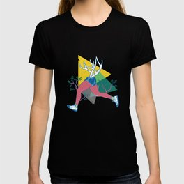 Run like a deer T-shirt