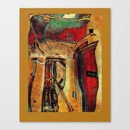 coridors and expanses Canvas Print