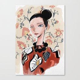 Bat Gio Canvas Print