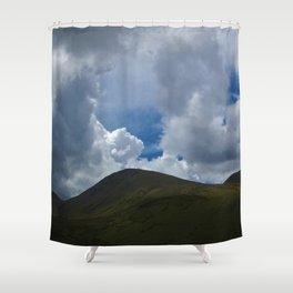 Mount Snowdown Shower Curtain