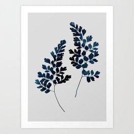 Watercolor Leaves 13 Art Print