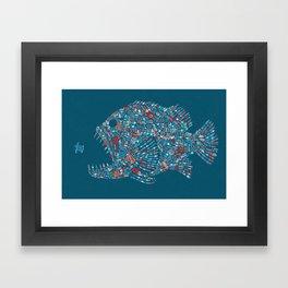 Killer Plastic Framed Art Print