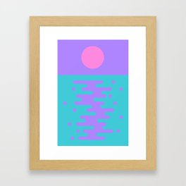Paradise Sunrise II Framed Art Print