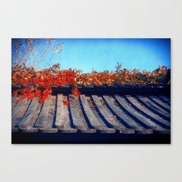 Autumn Japanese Garden Canvas Print