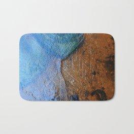 Frozen water Bath Mat