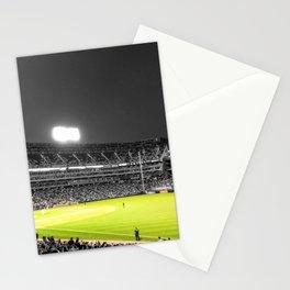 Chicago Baseball Stadium Photograph Color/Black & White Mashup Stationery Cards