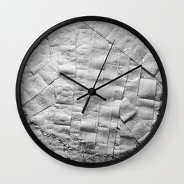 Smile on toilet paper Wall Clock