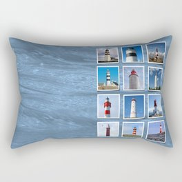 Lighthouses Part I. Rectangular Pillow