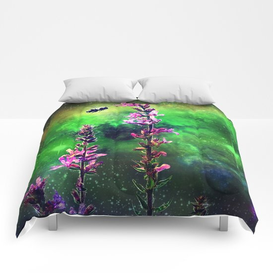 Bee Against The World Comforters