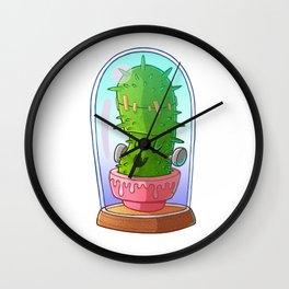 Frankenstein's cactus Wall Clock