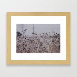 Clear Framed Art Print