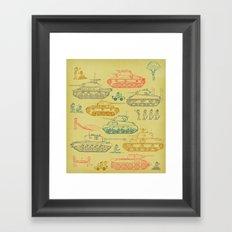 Tanks For Everything Framed Art Print