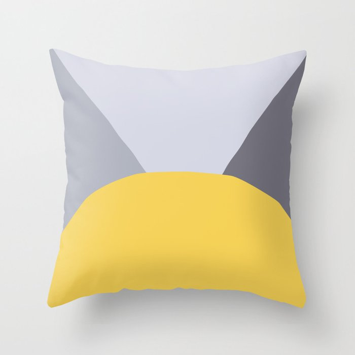 Deyoung Primrose Yellow Throw Pillow