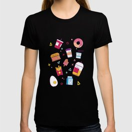 Food And Drink Humor print Food Party product T-shirt