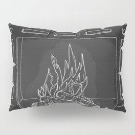 Fireplace Pillow Sham