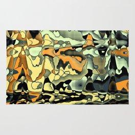 Rusty abstract Rug