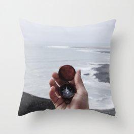 Navigate Compass (Color) Throw Pillow