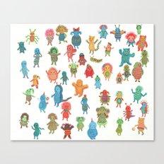 Little Ones Canvas Print