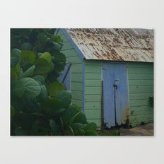 Caribbean Shed Canvas Print