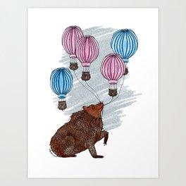 The Balloon Vendor Art Print