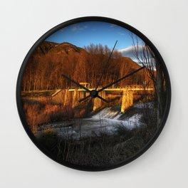 Puente de la Duquesa Wall Clock