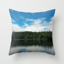Ocean Calm II Throw Pillow
