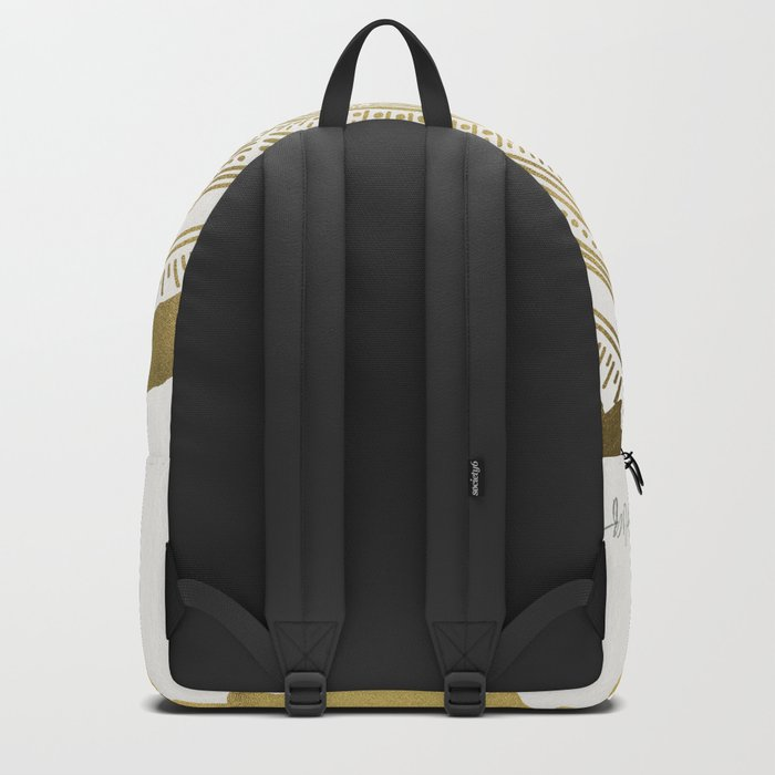 Douglas Fir – Gold Tree Rings Backpack
