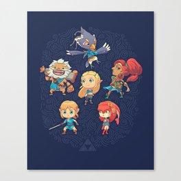 The Cuteness Ballad Canvas Print