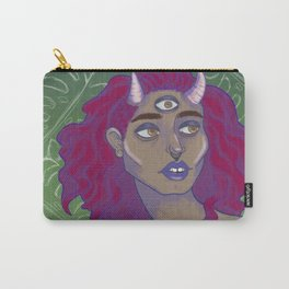 horned lady Carry-All Pouch