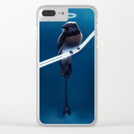 Solar Sparrow Clear iPhone Case