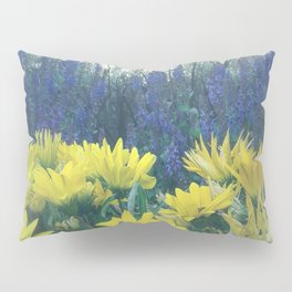Small Summer Garden Pillow Sham