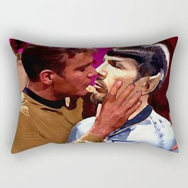 Between the mirrors Rectangular Pillow