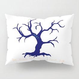 Tree of Life Dark Blue Pillow Sham
