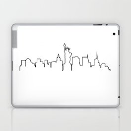 One Line - New York Skyline Laptop & iPad Skin