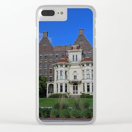 Old West End Gerber House II- vertical Clear iPhone Case