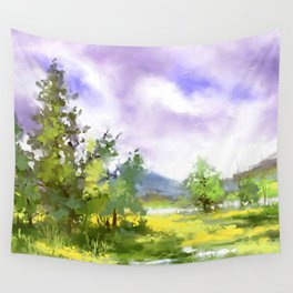 After summer storm Wall Tapestry