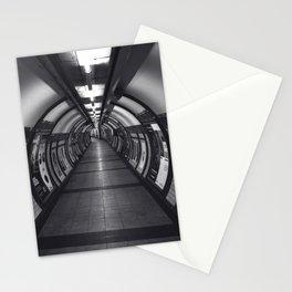 Embankment Underground Train Station, London Stationery Cards