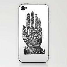 Hand iPhone & iPod Skin