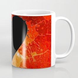 Red Hot Heart Coffee Mug