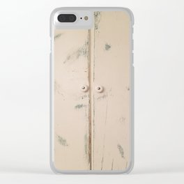 Shabby Chic, Cabinet Doors, Doors Clear iPhone Case