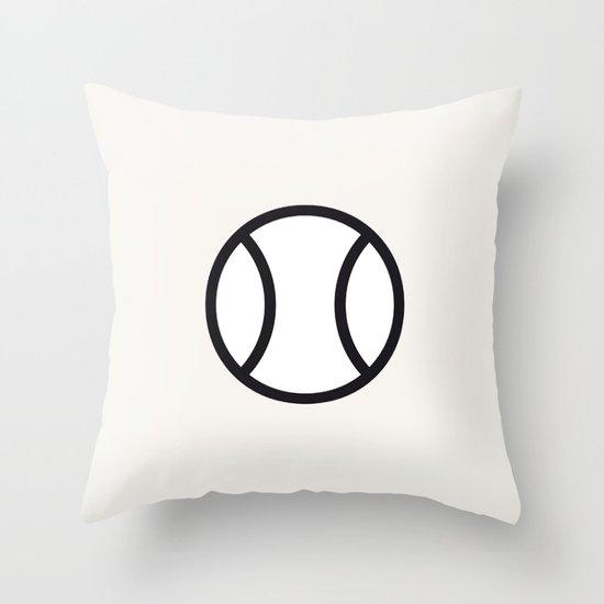 Tennis - Balls Serie Throw Pillow