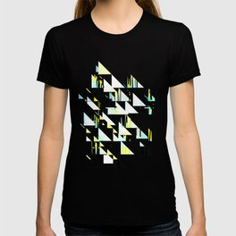 black&neon / triangle T-shirt