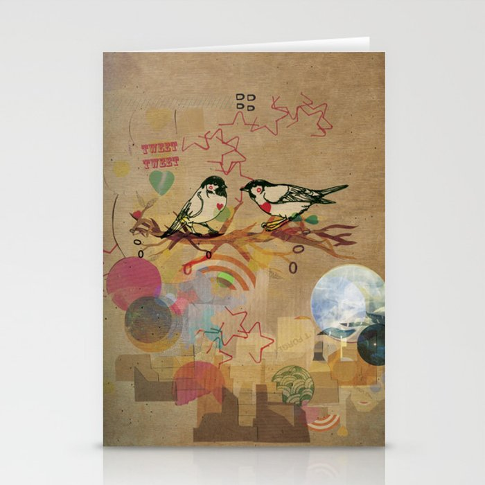 Two Little Birds Stationery Cards