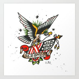 96 Romeo Art Print