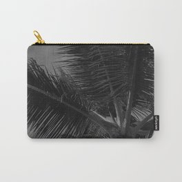 Palm Tree Upshot Fine Art Photo After Midnight Carry-All Pouch