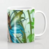 emerald Mugs featuring Emerald by Fairytale Art