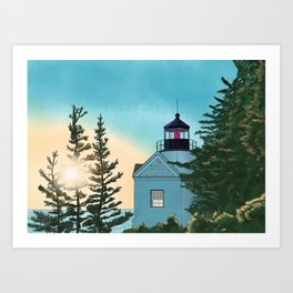 Shine the Light Art Print