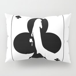 Ace of Clubs Pillow Sham