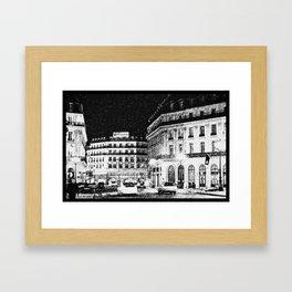 City of Night Framed Art Print